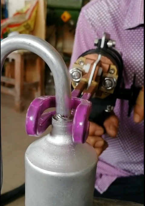 铝储液器焊接