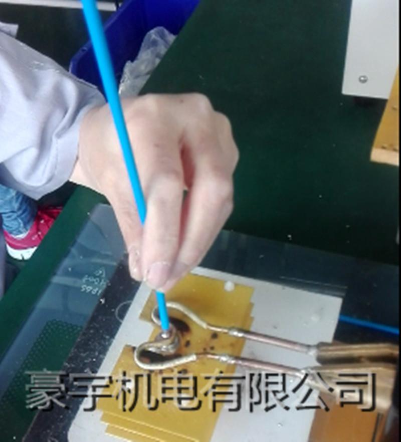 通讯接头焊接