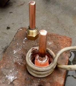 铜接头焊机