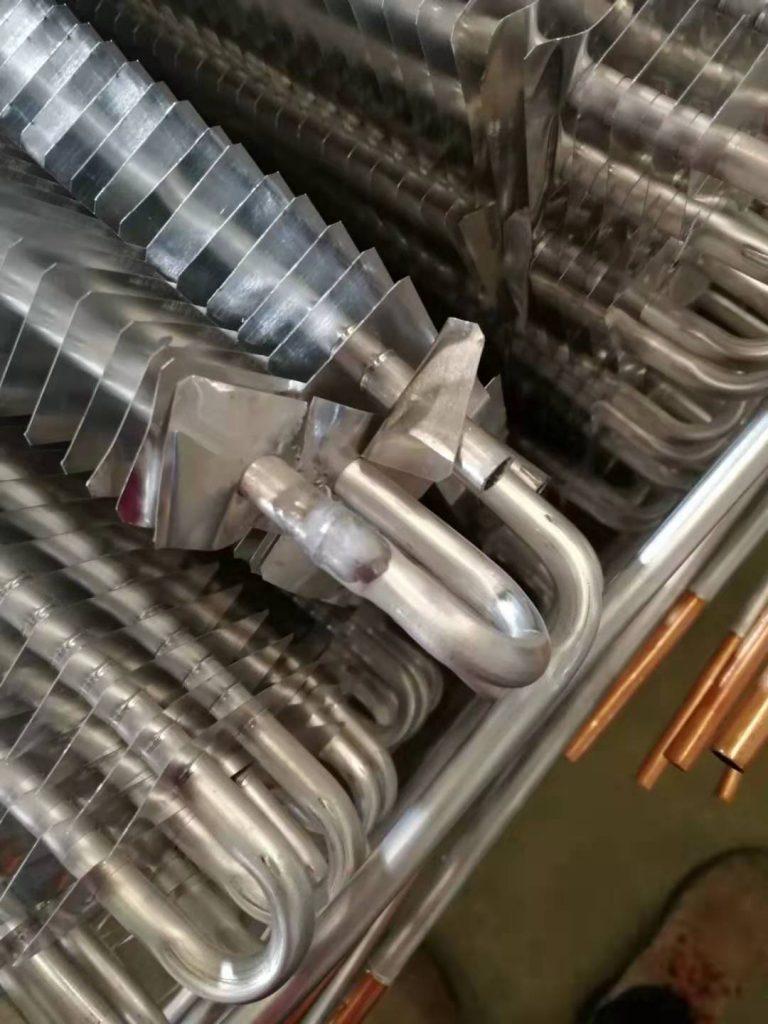 空调蒸发器焊接