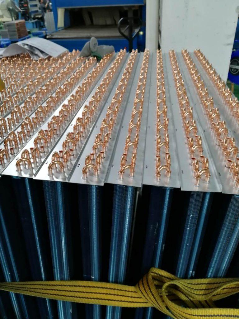 中央空调蒸发器焊接