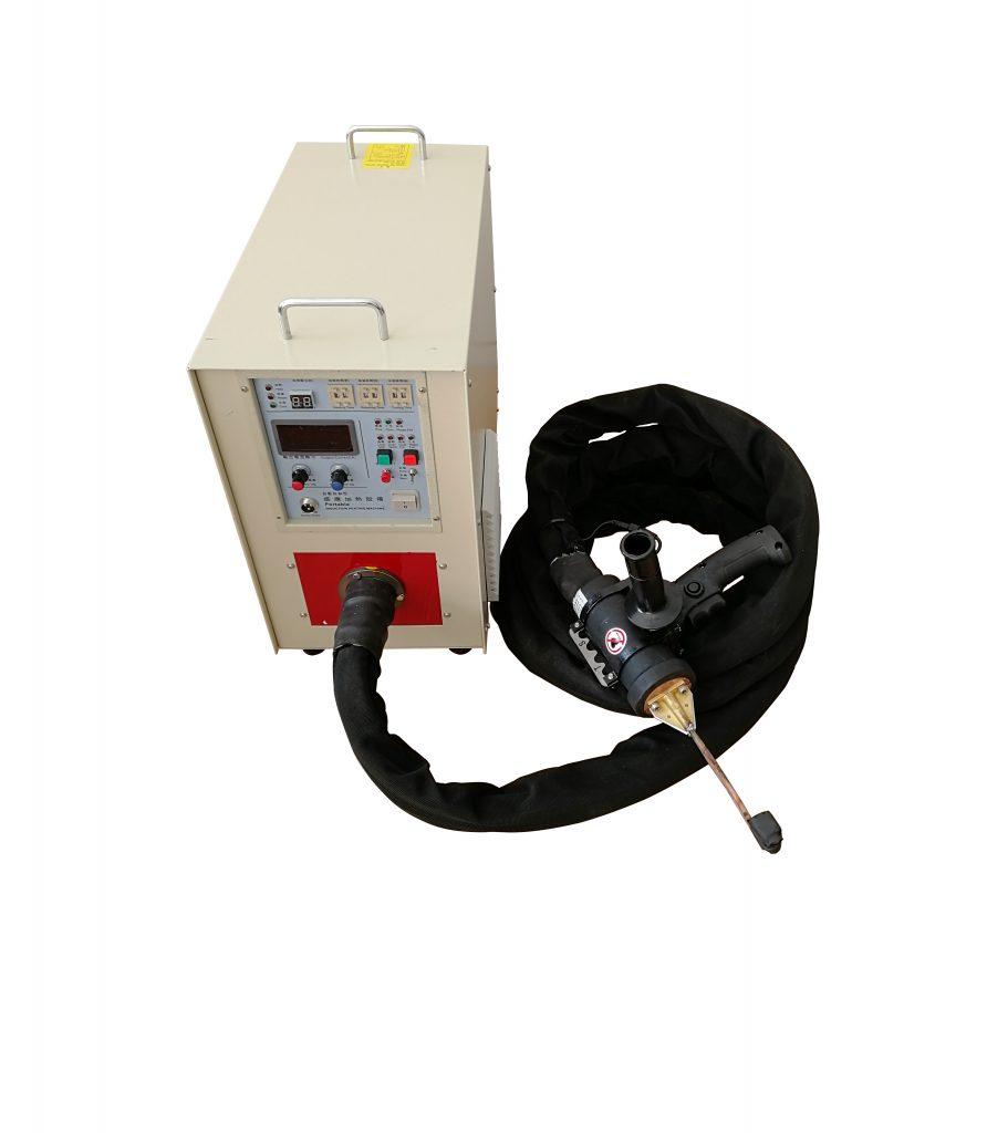 空气能热水器用什么焊机好——手持式高频钎焊机