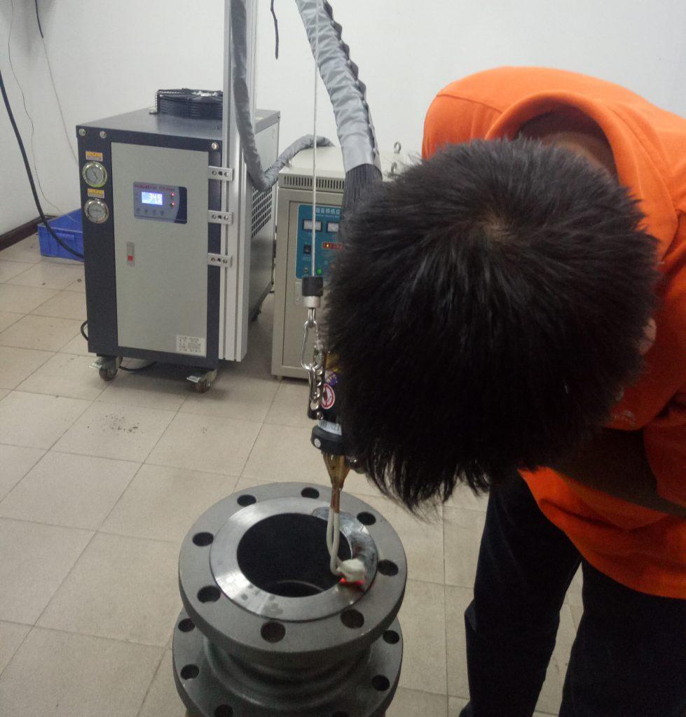 吉林龙井手持式高频感应焊机