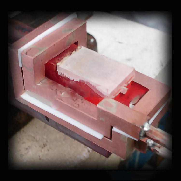 高频焊接机在精密模具配件焊接应用